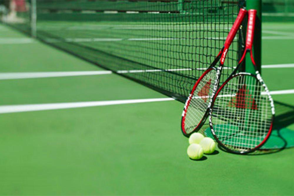 La gioia di giocare a tennis